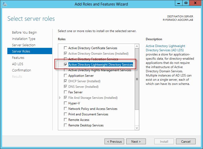 Windows server 2003 - active directory kurumu
