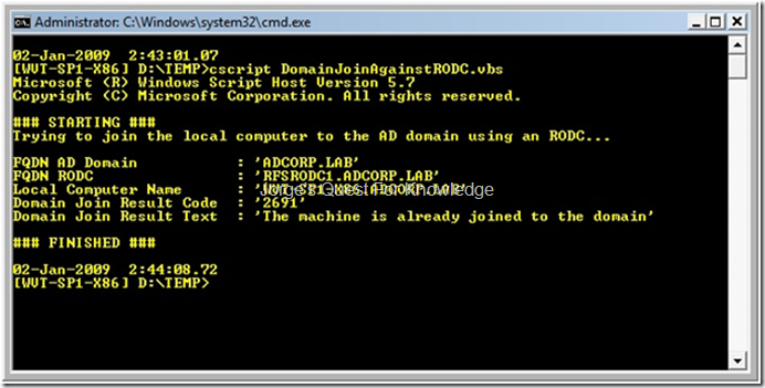 2009 01 01 domain join through an rodc instead of an rwdc image yadclub Images