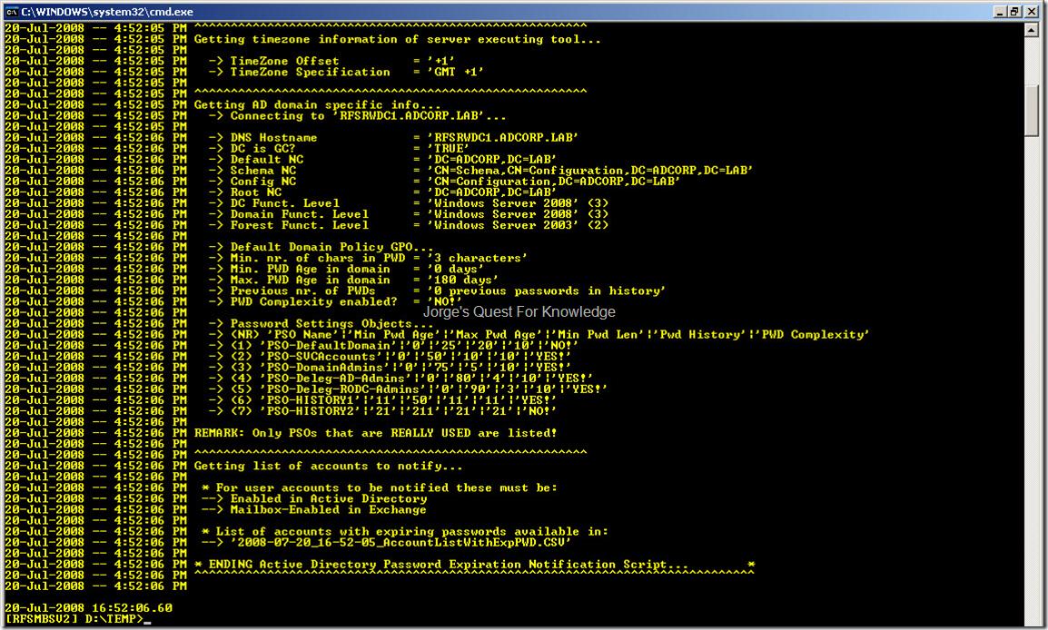 Windows Server « Jorge's Quest For Knowledge!