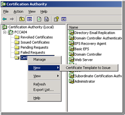 Active directory certificate services adcs jorges quest for select the duplicated template and click on ok yelopaper Gallery