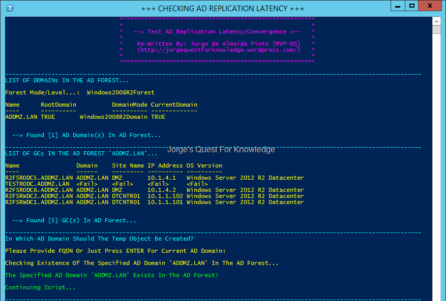 2014-02-01) Testing Active Directory Replication Latency/Convergence