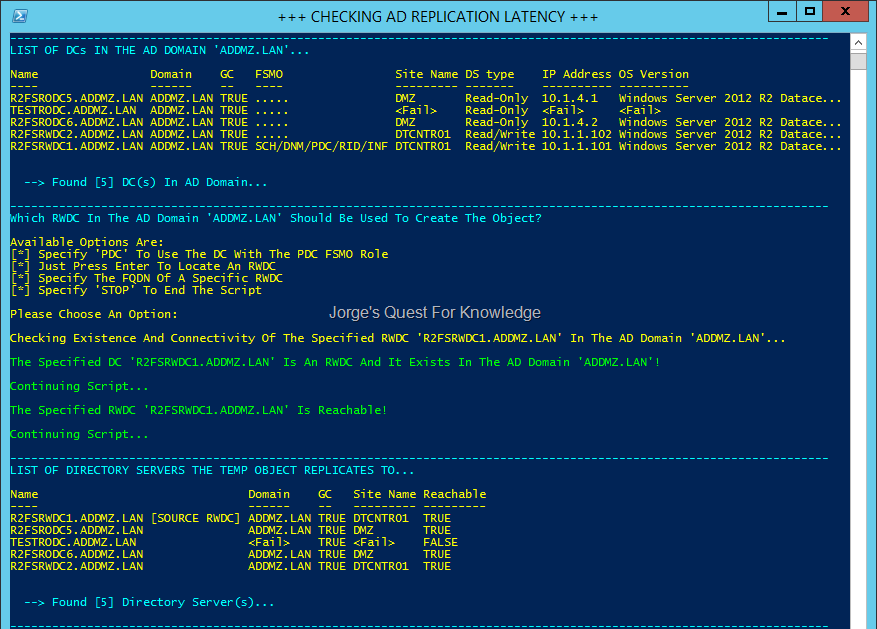 2014-02-01) Testing Active Directory Replication Latency