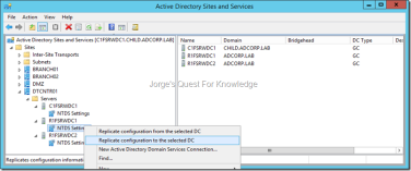 Active Directory Domain Services (ADDS) | Jorge's Quest For