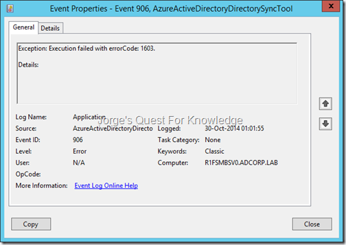backup exec eject failed relationship