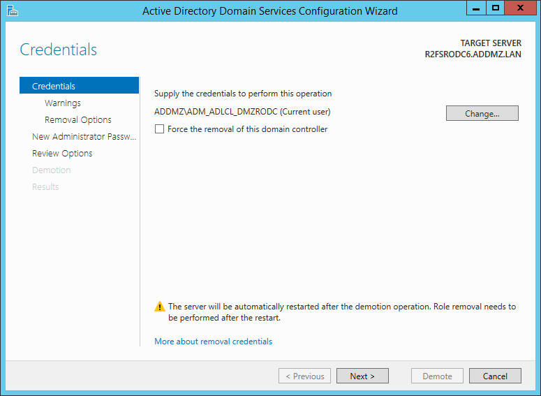 Read only domain controller jorges quest for knowledge lets go through the process and demote an rodc yadclub Images