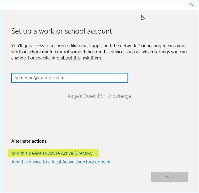 2016-12-28) Joining Devices To Azure AD – The Options And