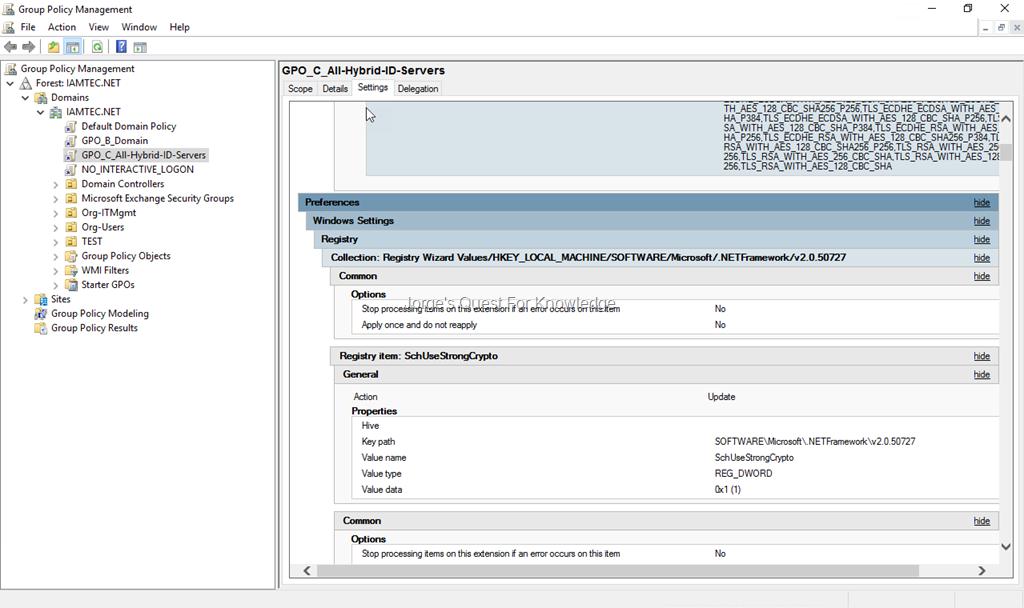 set registry key through gpo