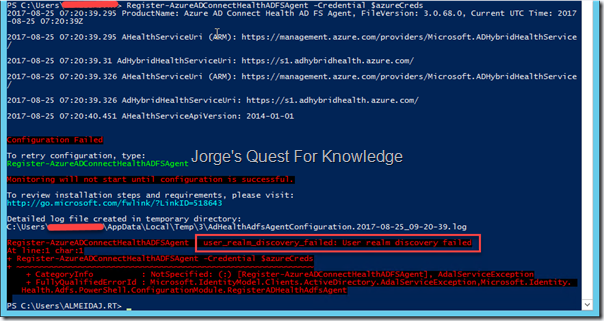 Active Directory Federation Services (ADFS) – Jorge's Quest For