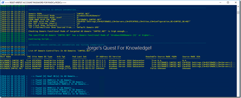 Jorge's Quest For Knowledge!